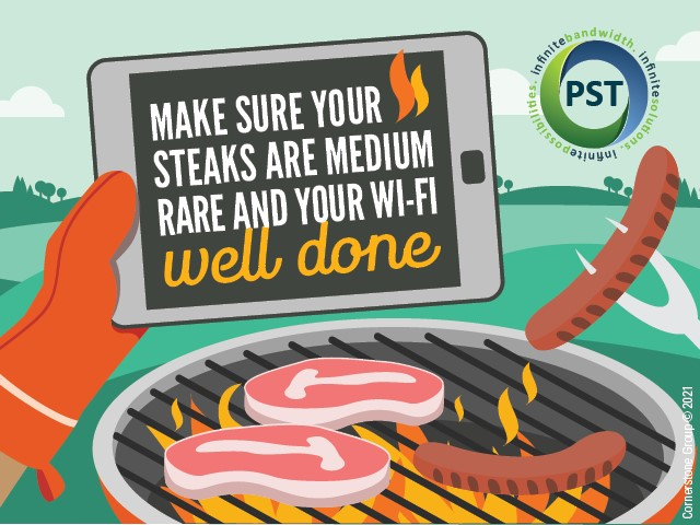 Make sure your wi-fi is well done