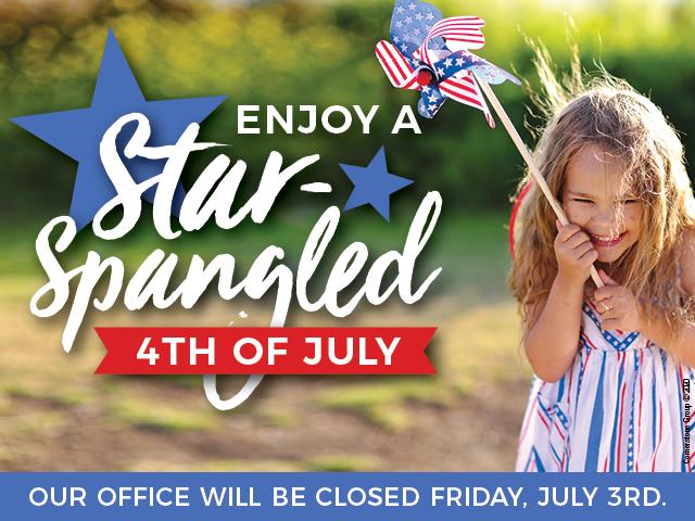 Enjoy a Star-Spangled 4th of July