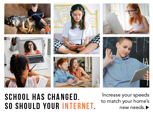 School has changed. So should your internet.
