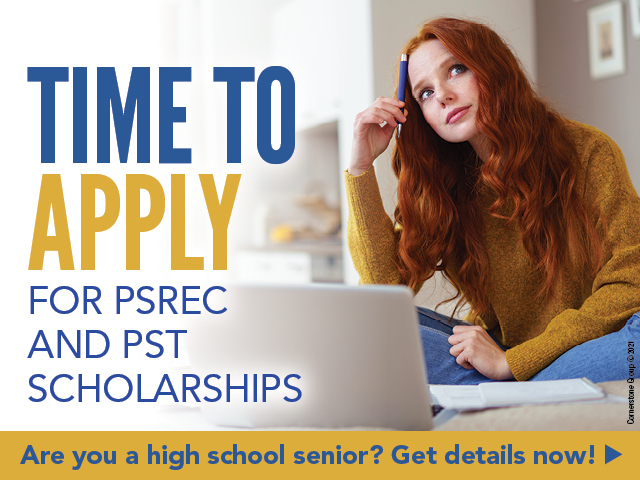 Time to Apply for PSREC and PST Scholarships