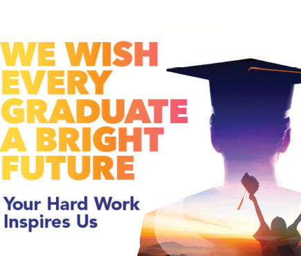 We Wish Every Graduate a Bright Future