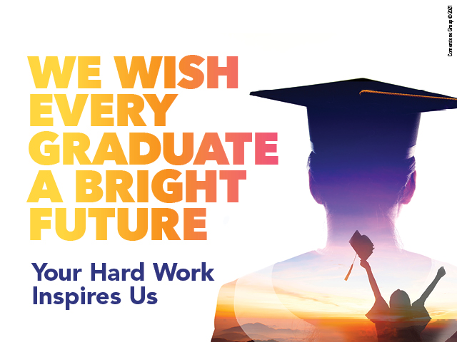 We Wish Every Graduate a Bright Future