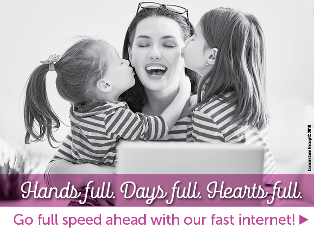 Go full speed ahead with PST's fast internet